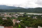 Panoramica del Poblado, al Fondo la Laguna Chichoj