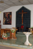 Detalle de Interior de la Iglesia Catolica