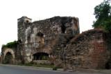 Vista Posterior de las Ruinas de la Antigua Iglesia