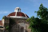 Detalle de la Cupula de la Iglesia Catolica