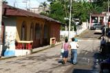 Calle Principal de Ingreso a la Poblacion