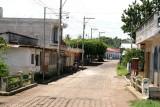 Una de las Calles Principales del Poblado
