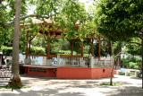 Quiosco en el Parque Central