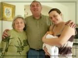 4 générations - 4 generations : my great grandmother,  grand fath,  mum and I Léo