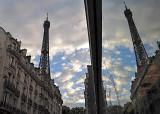 Twin Eiffel Towers