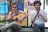 Playing in the Latin Quarter in Paris