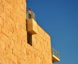 Late Afternoon At The Getty Museum