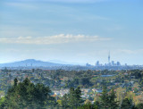 Auckland CBD From Forest Hill Rd