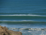 Massive 20 foot swell rolling in at The Gap