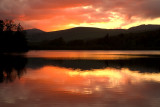 Loch Clunie Sunset.
