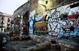 Graffiti Around La Boqueria.