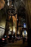 Inside La Seu.