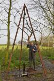 Boren in de polder Zuurland