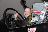 Mike in the Flight Simulator