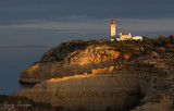 The lighthouse at Rocha Brava, Portugal