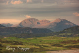 The Moelwyn range from Criccieth