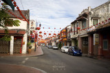 Streets of old Malacca