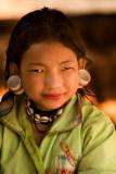 Karen hill tribe girl, Thailand