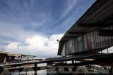 Water village in Labuan (Malaysia)