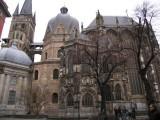 Aachener Dom, side