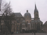 Aachener Dom, viewed from Katschof square