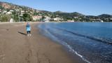 Agay beach walk