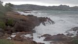 Big seas, Agay Bay