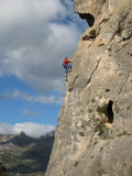 Dramatic positions, easy route! Guadalest