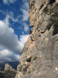 Guadalest 6b and dramatic sky