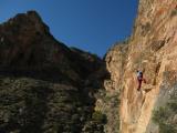 Climbing at Orihuela