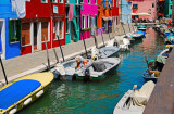 These are the Streets of Burano Island...