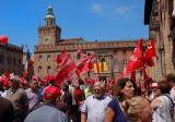 People in strike