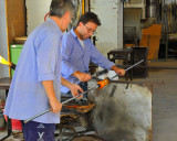 The Masters of Glass at work: the time to cut ...