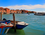 Murano Is.: Boats,Water and Color
