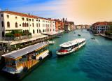 Venice: water bus stop