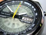Rare SEIKO Time Sonar Automatic Chronograph ***SOLD***