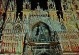 ROUEN  la Cathédrale de Monet aux pixels