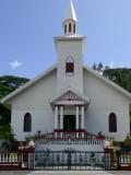 P588 One of the Churches at Tahiti Iti