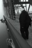 Pedestrian in the Fog