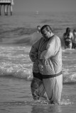 Sumo Suit in the Surf
