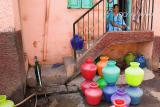 Colored watercans