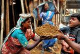 Women construction workers