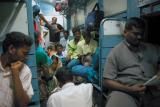 Another view inside the train