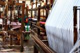 At the loom
