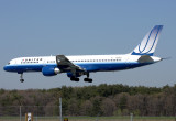 United Airlines Boeing 757-222