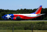 SouthWest Airlines 'Lone Star'.