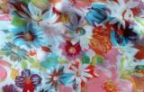 Floral Silk Crepe
