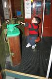 Manejando el trolley