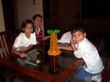 Alejandra, Nanci y David