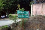 Rotulo Distancia a Tegucigalpa